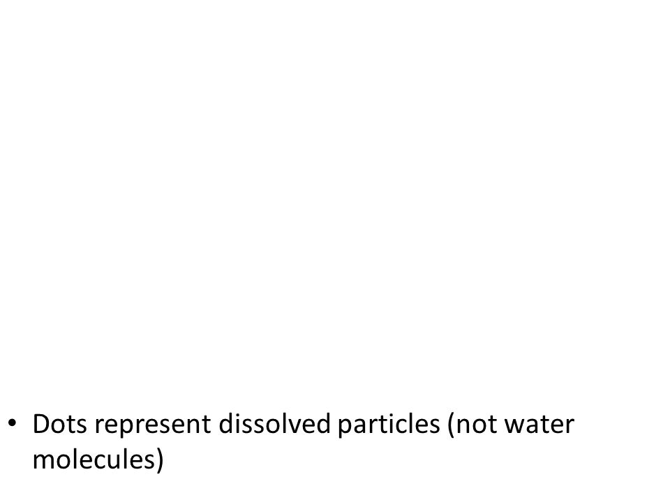 Osmosis Defined: Diffusion of water from an area of high to low concentration High H 2 O concentration – Less solutes – Ex: Distilled water Low H 2 O concentration – More solutes – Ex: Salt water