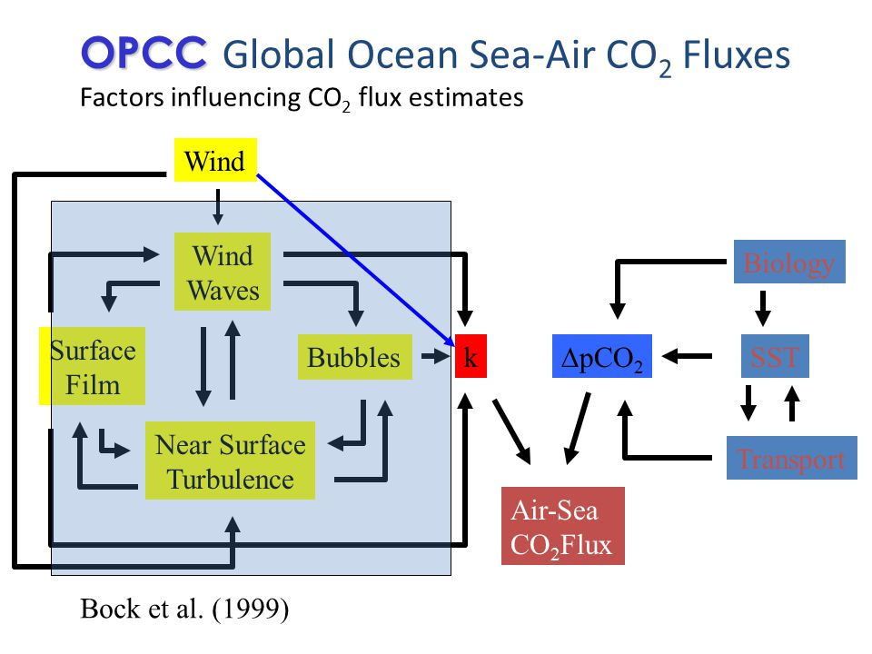 OPCC OPCC Global Ocean Sea-Air CO 2 Fluxes Remote sensing How can we quantify the impact of [remotely measured] biological processes on ∆pCO 2 .