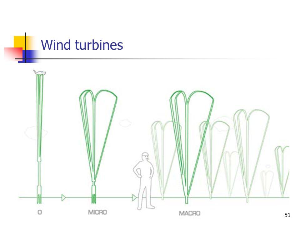 Wind turbines 51