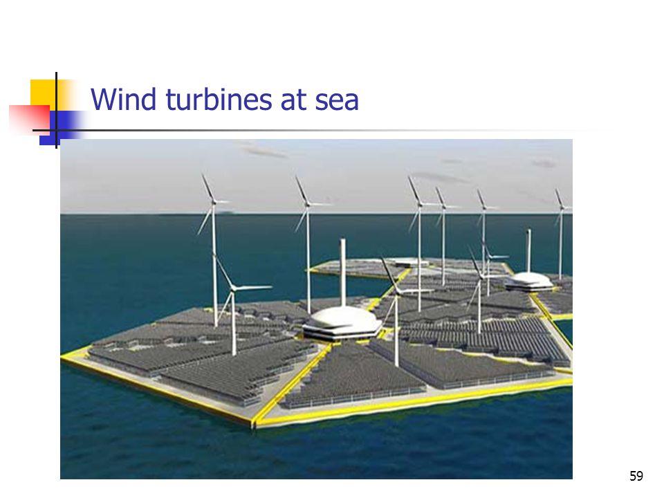 Wind turbines at sea 59