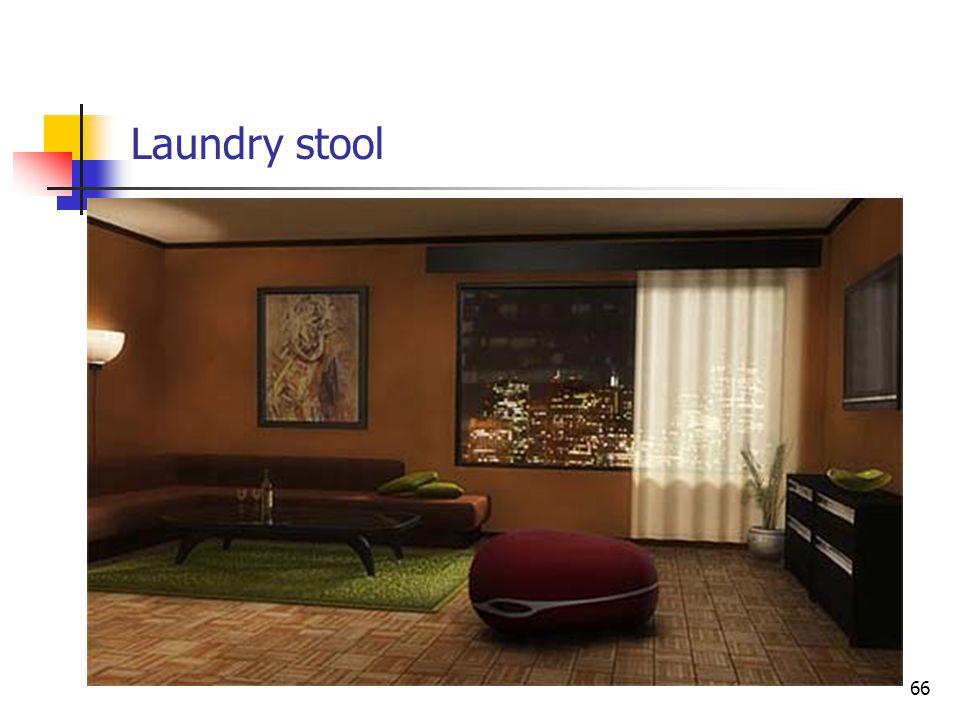Laundry stool 66