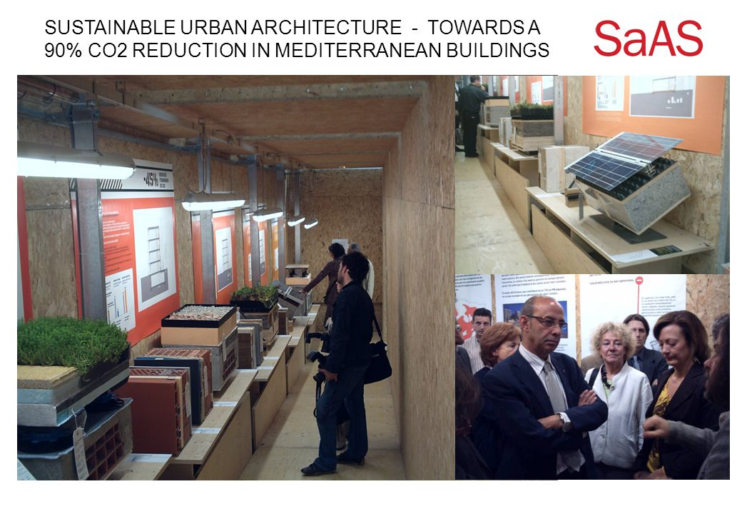 SUSTAINABLE URBAN ARCHITECTURE - TOWARDS A 90% CO2 REDUCTION IN MEDITERRANEAN BUILDINGS