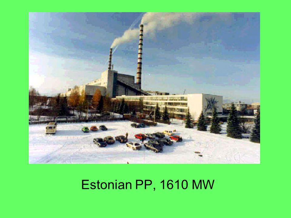 Estonian PP, 1610 MW