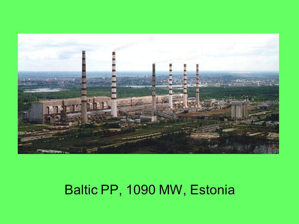 Baltic PP, 1090 MW, Estonia