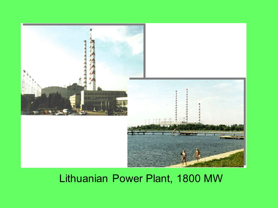 Lithuanian Power Plant, 1800 MW