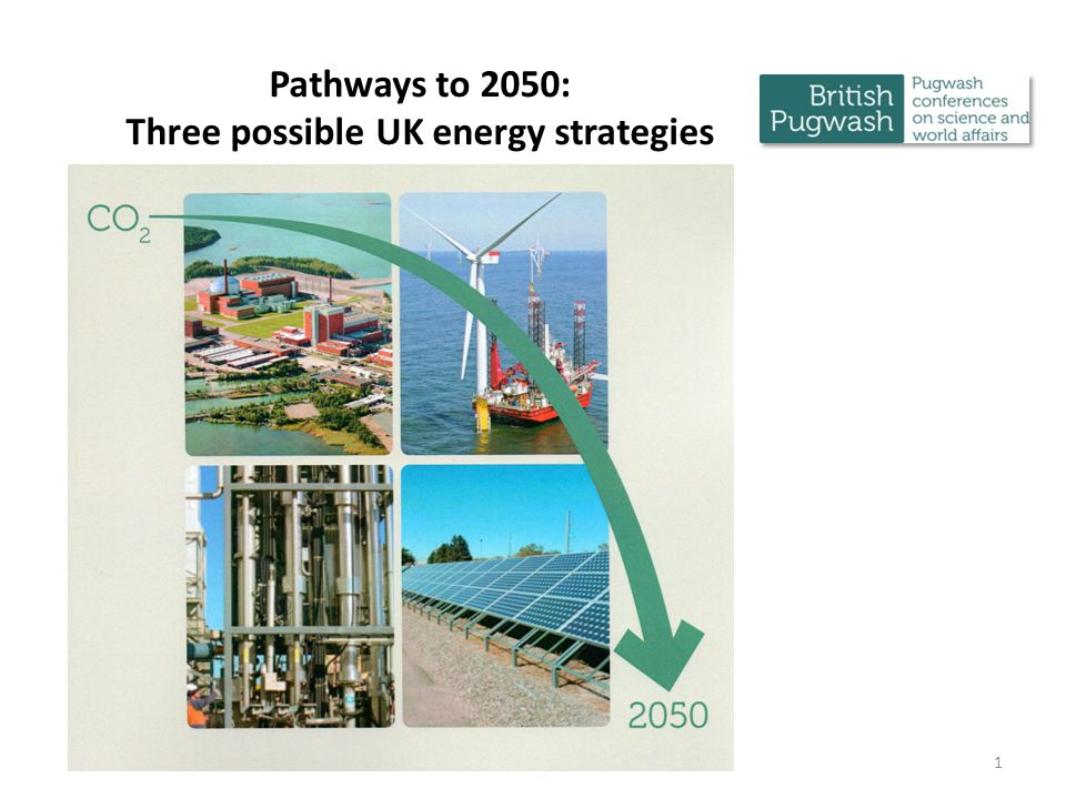 HIGH NUCLEAR PATHWAY CONCLUSIONS Delivers energy security with the required 80% reduction in GHG emissions by 2050 The clock is ticking fast – UK needs to act now Nuclear power has the potential to ensure energy security for years beyond 2050 but requires proper management of spent fuel Requires 27 3GWe reactors to be built within the next 40 years – history supports such a build rate The technology exists and is tried and tested Can we afford to ignore this clean, secure source.