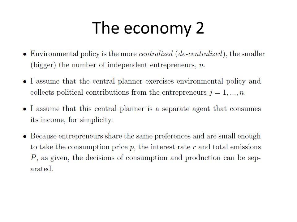 The economy 2