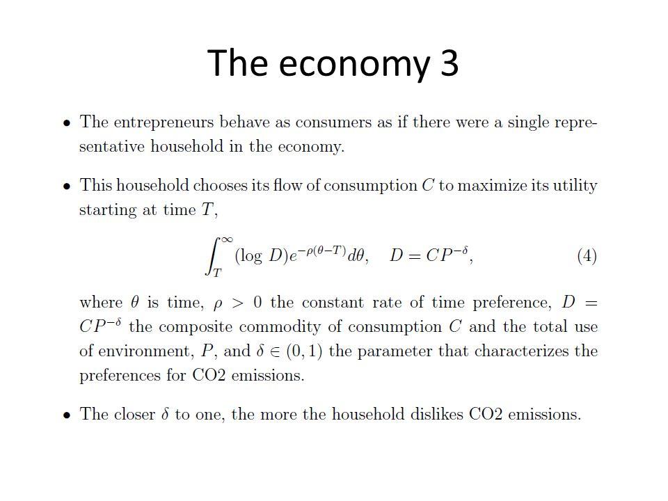 The economy 3