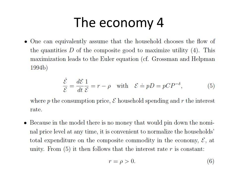 The economy 4