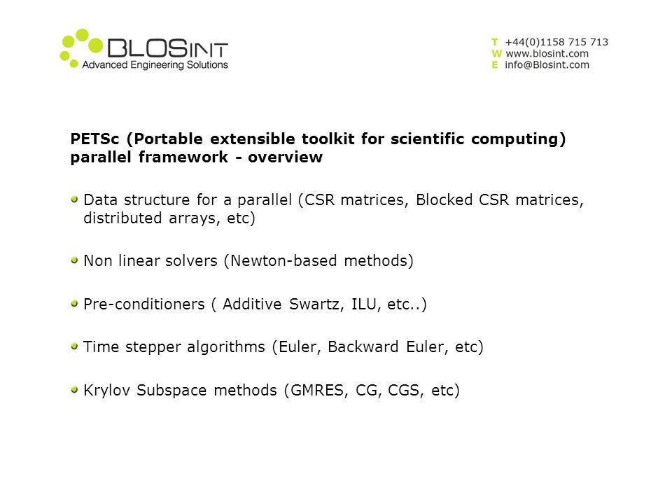 Geomechanics model – Discretisation Equation is solved with the Galerkin finite element method.