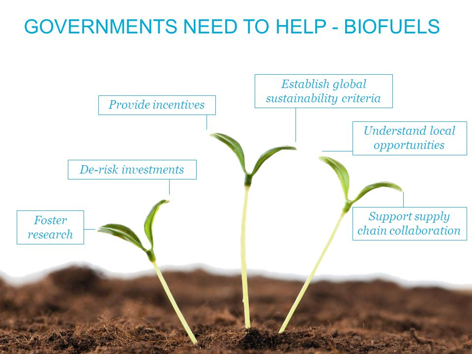 © ATAG 2013 WWW.AVIATIONBENEFITSBEYONDBORDERS.ORG 7 GOVERNMENTS NEED TO HELP - BIOFUELS Support supply chain collaboration Establish global sustainability criteria De-risk investmentsProvide incentivesUnderstand local opportunities Foster research