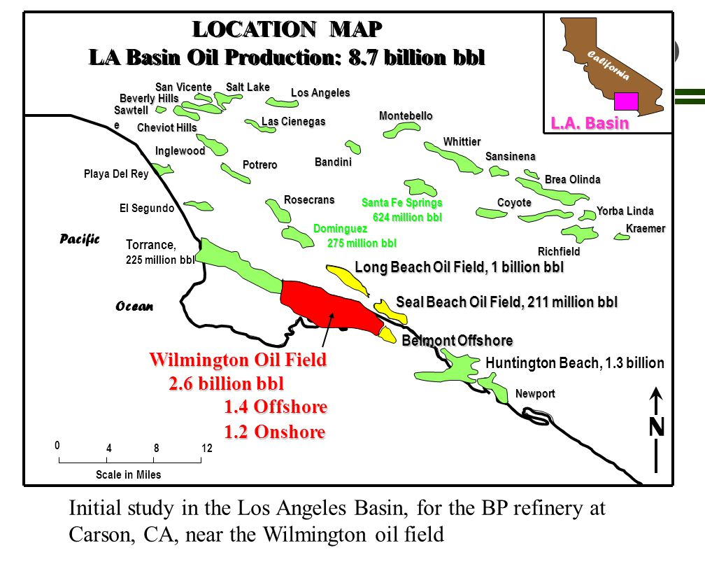 TTI CO2 Sequestration in Geologic Formations Elk Hills Oil Field 1,300,000Mbbl oil produced; 107,000Mbbl reserves 2,150,000MMcf gas produced; 707,000MMcf reserves 1,300,000MMcf gas injected (PM); 1,100,000Mbbl water/steam injected (WF)