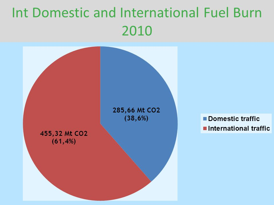 Int Domestic and International Fuel Burn 2010