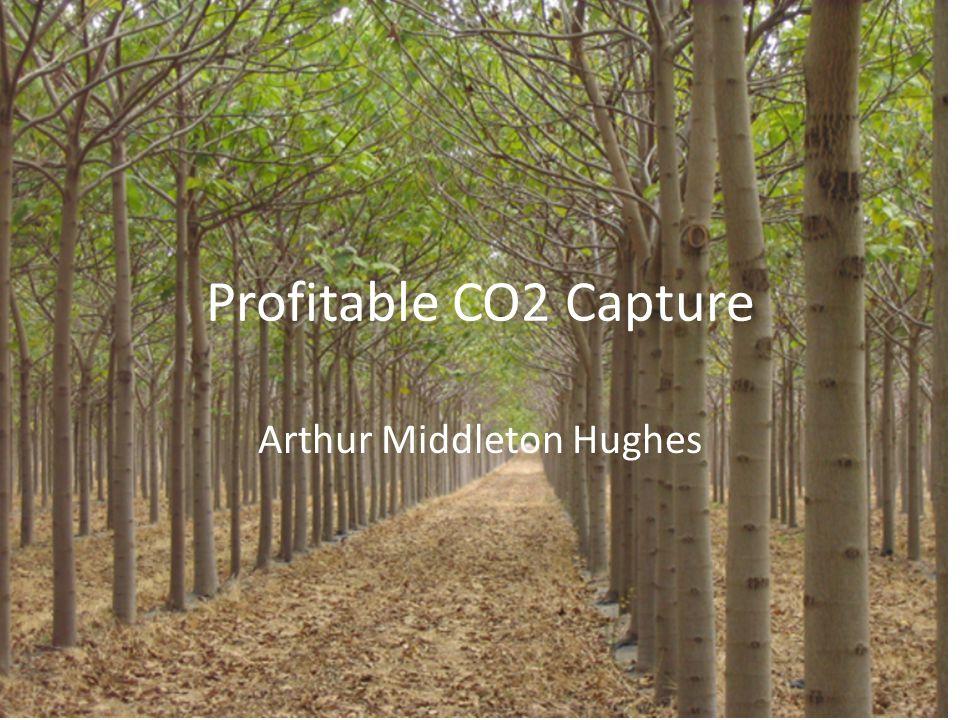 Profitable CO2 Capture Arthur Middleton Hughes