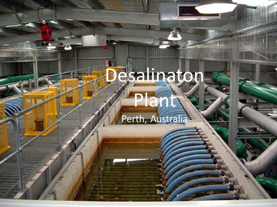 Typical Desalination Plant Desalinaton Plant Perth, Australia