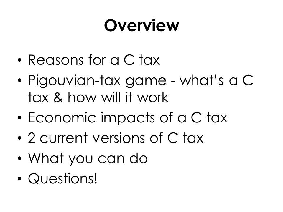 How to tax Game – Problem - Salt isn't a separate good in our model economy.