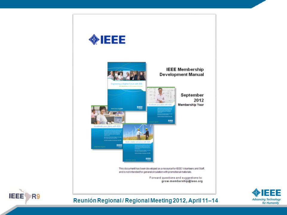 Reunión Regional / Regional Meeting 2012, April 11–14