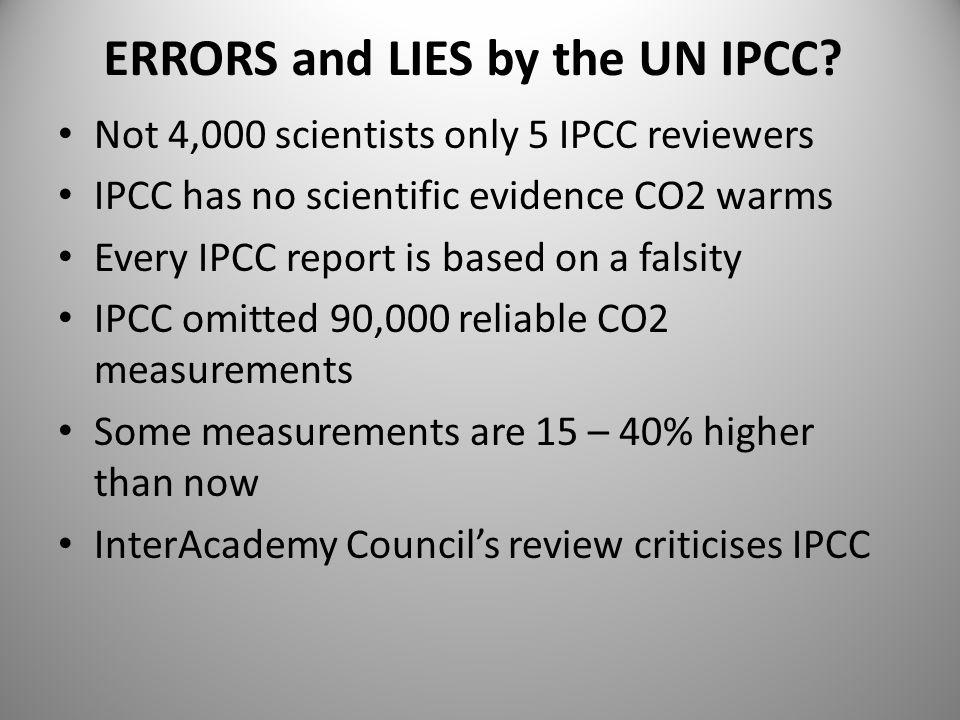 Supposed experts Professor Tim Flannery Professor David Karoly Professor Will Steffen CSIRO All have no evidence.