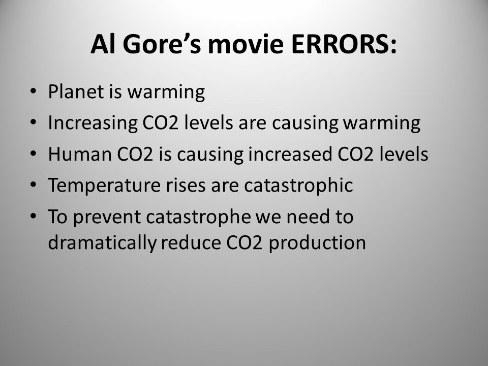 My conclusions on climate: Temperature is not unusual CO2 doesn't drive temperature Temperature drives CO2 levels Nature controls CO2 levels.