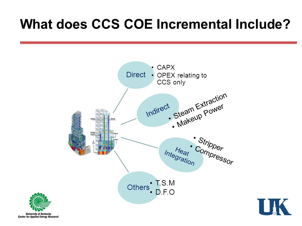 What does CCS COE Incremental Include?