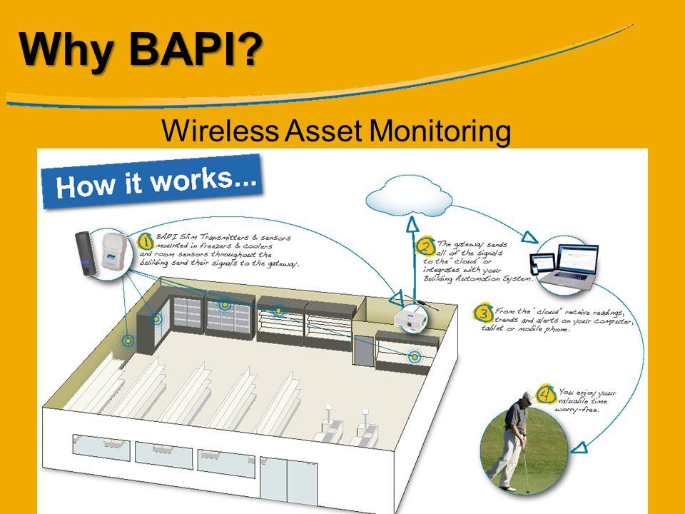 Why BAPI? Wireless Asset Monitoring