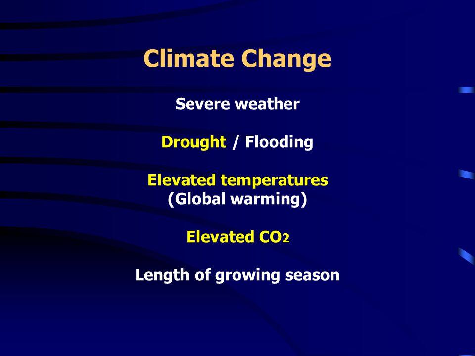 Climate Change - Drought Vegreville