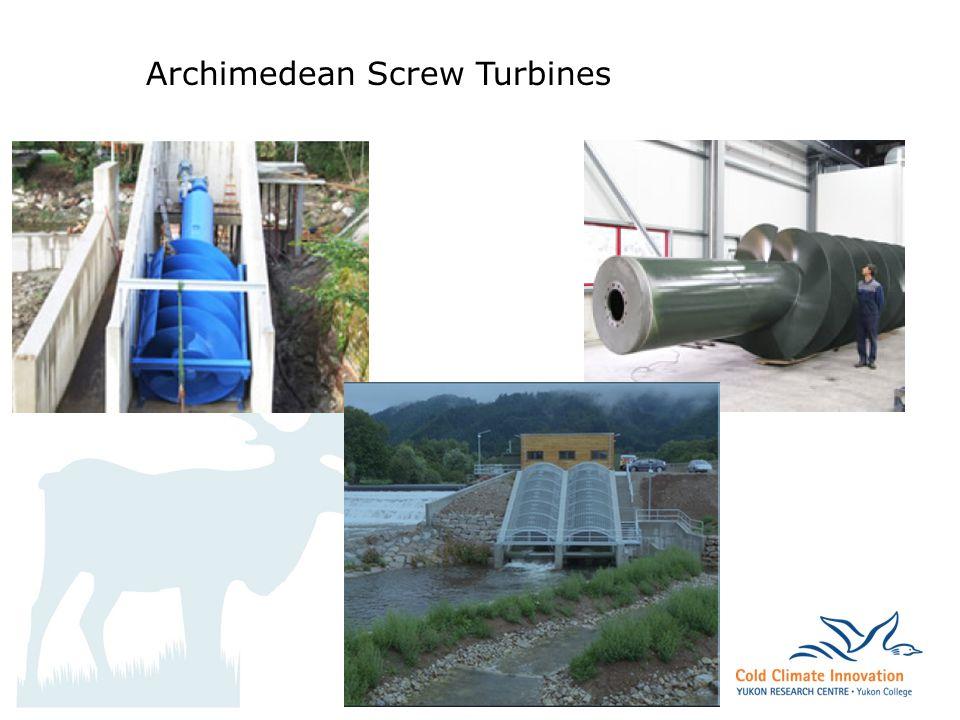 archbould.com Archimedean Screw Turbines