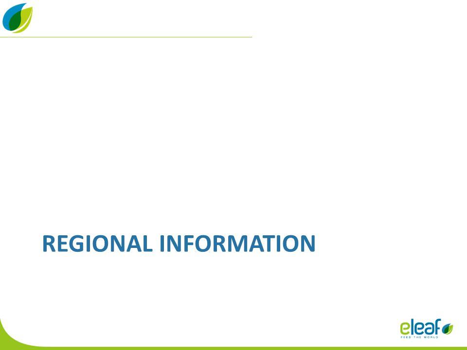 REGIONAL INFORMATION