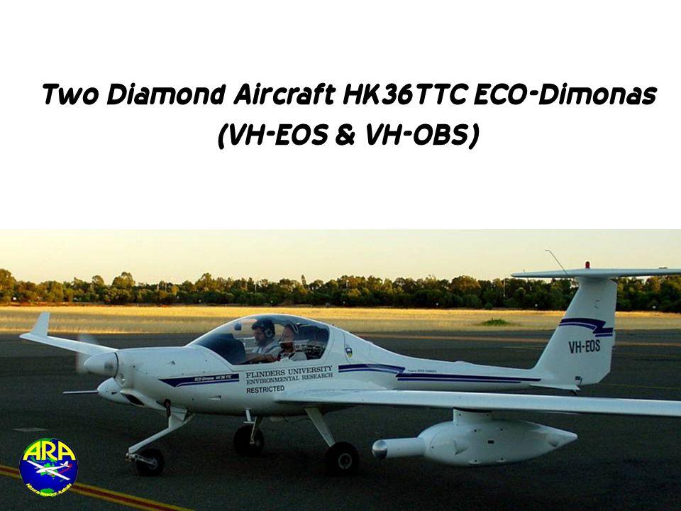 Two Diamond Aircraft HK36TTC ECO-Dimonas (VH-EOS & VH-OBS)