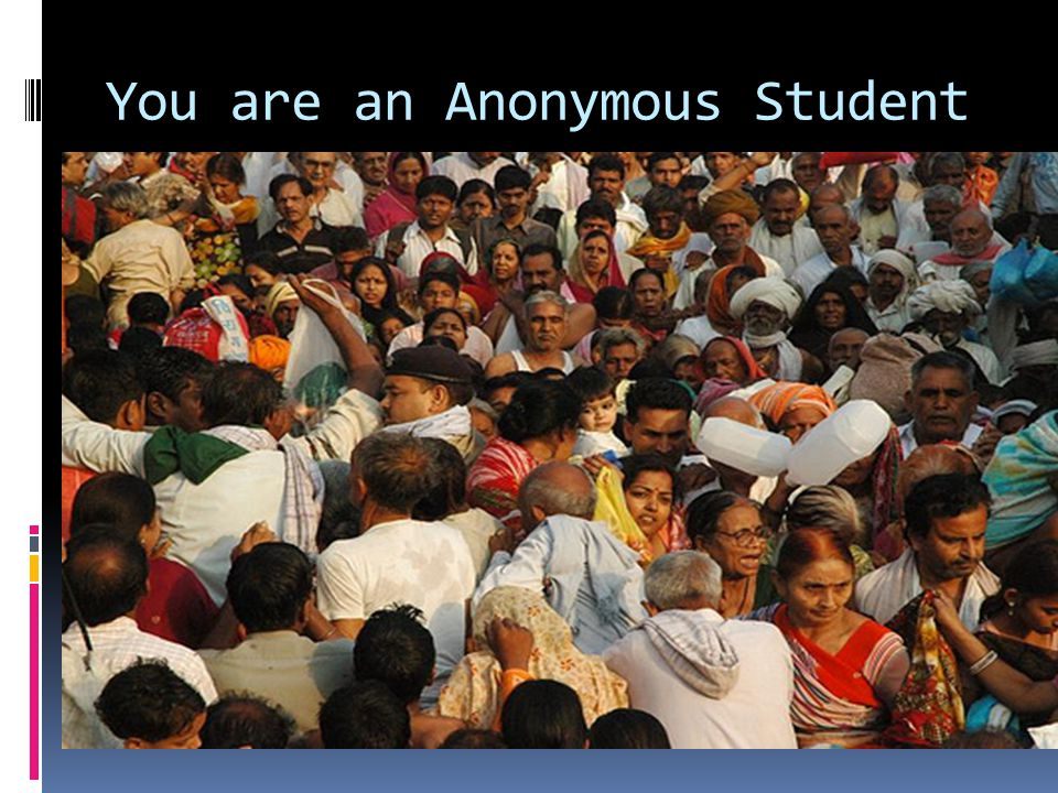 You are an Anonymous Student  Picture of a kolkota crowded street