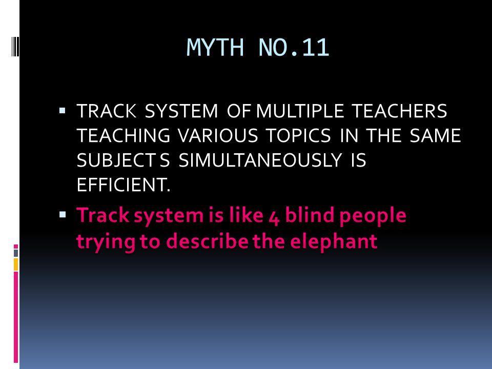 MYTH NO.11