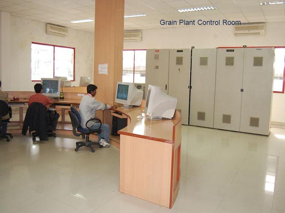Grain Plant Control Room