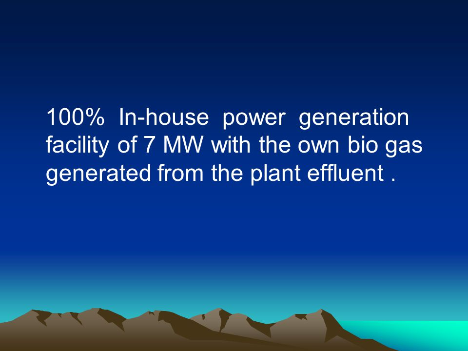 In house extraction & purification of Carbon dioxide having facility to produce food grade Co2.