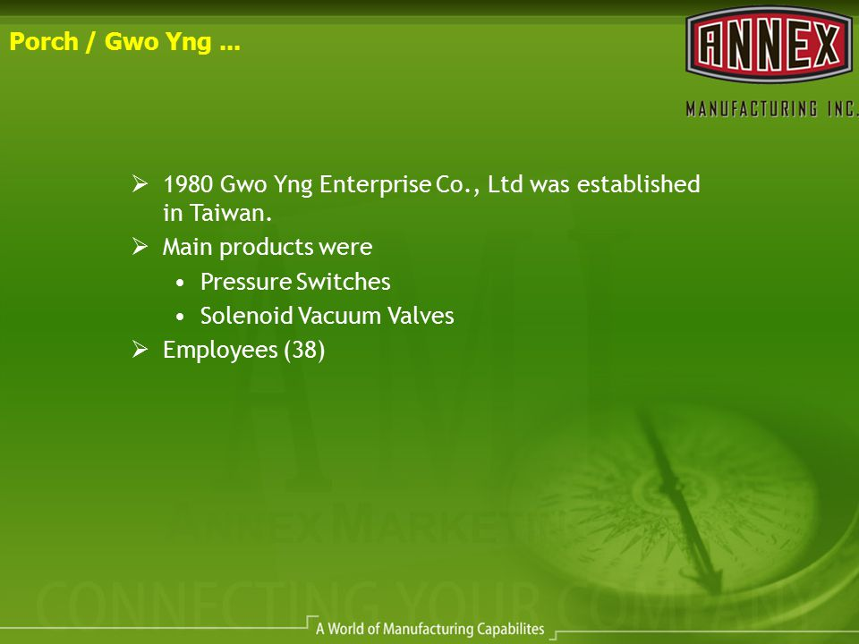 Foshan Gwo Yng Air-Conditioning Parts Co., Ltd Vast Staging and Shipping Department