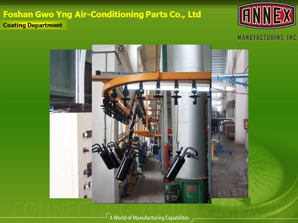 Foshan Gwo Yng Air-Conditioning Parts Co., Ltd Coating Department