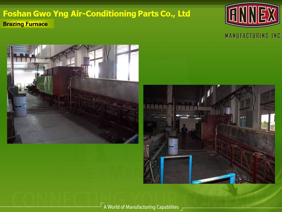 Foshan Gwo Yng Air-Conditioning Parts Co., Ltd Brazing Furnace