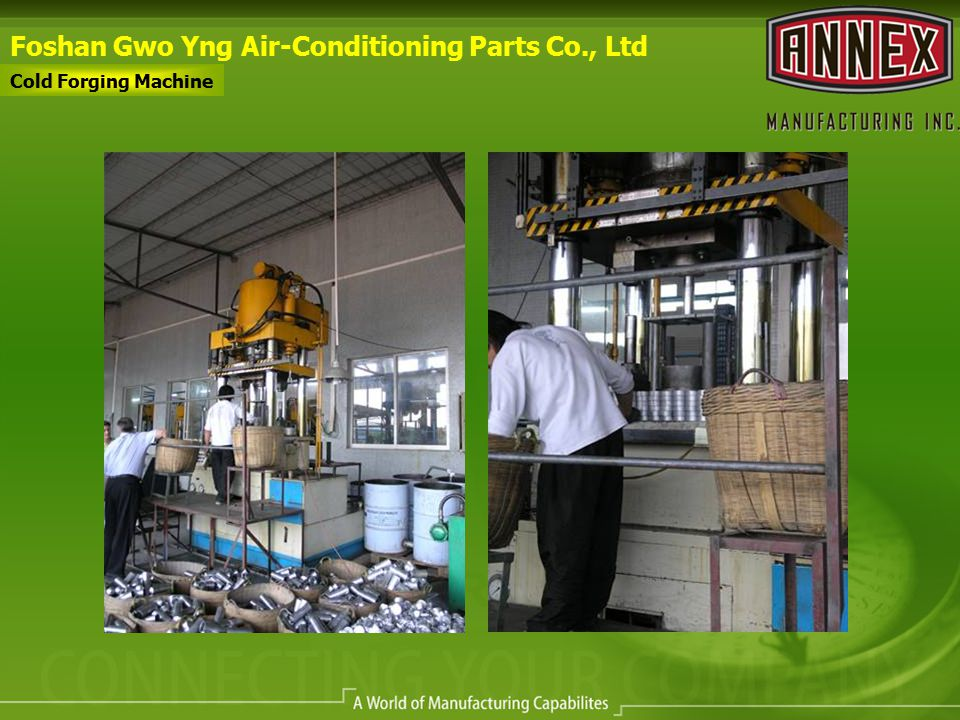 Foshan Gwo Yng Air-Conditioning Parts Co., Ltd Cold Forging Machine