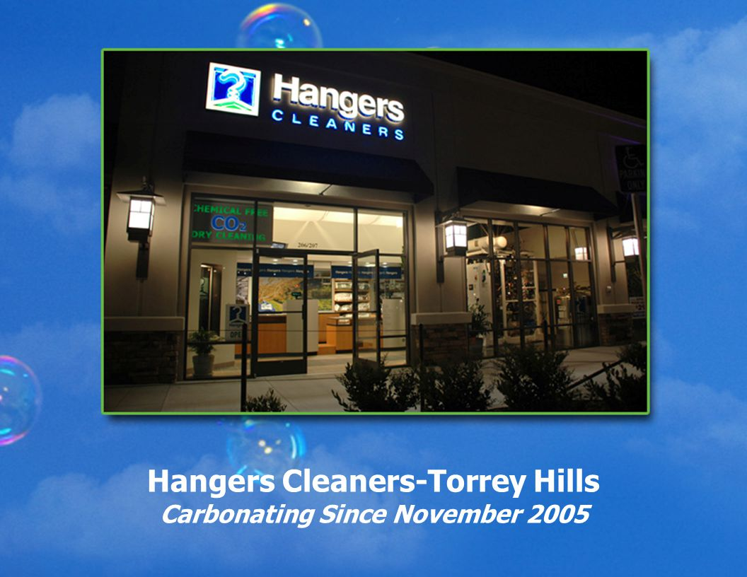 Hangers Cleaners-Torrey Hills Carbonating Since November 2005