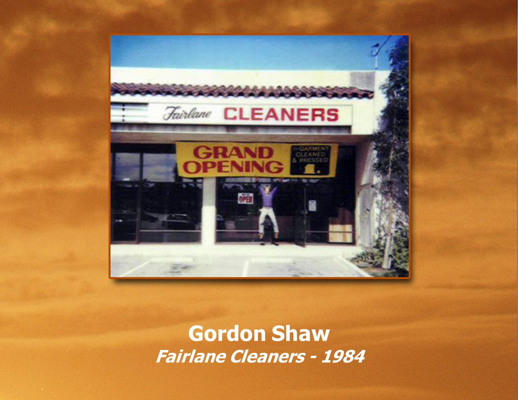 Gordon Shaw Fairlane Cleaners - 1984