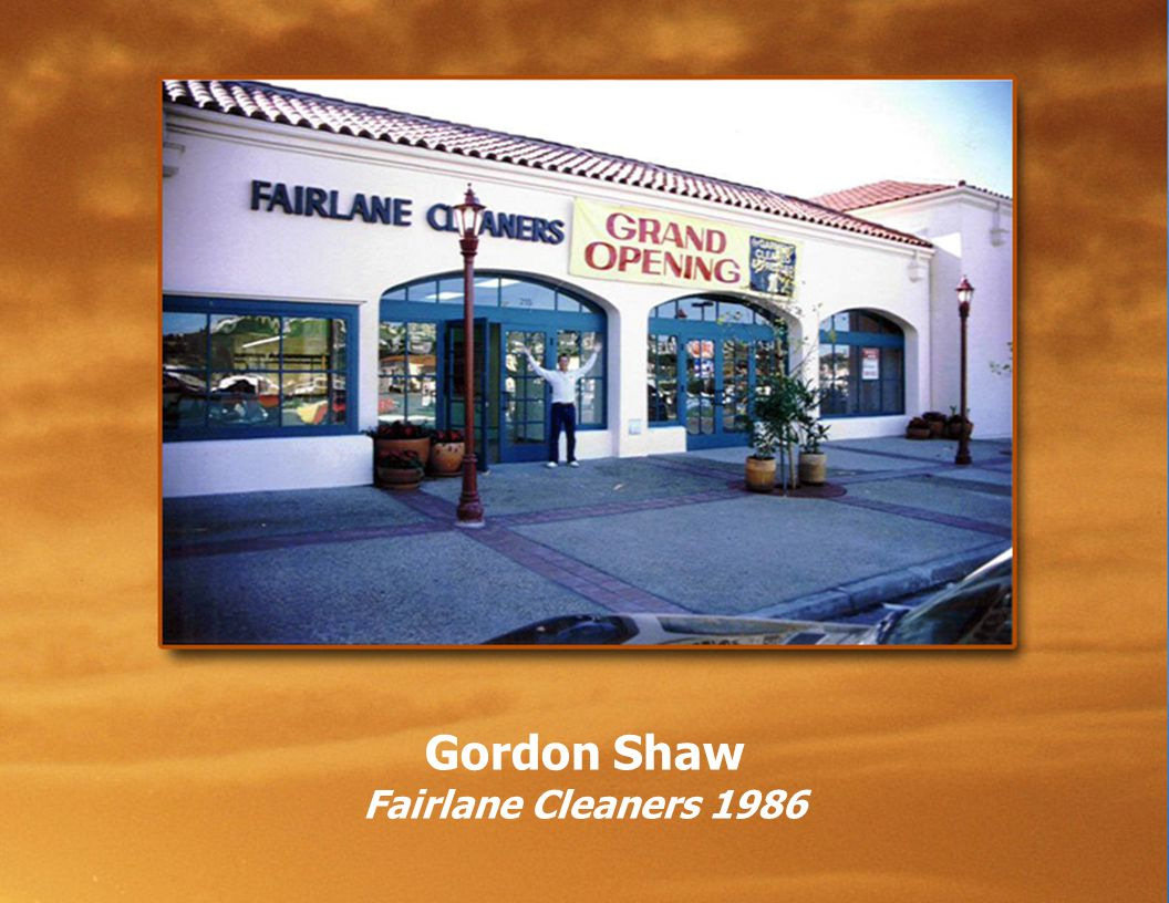 Gordon Shaw Fairlane Cleaners 1986