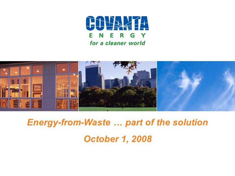 12 Recycling 0.5 billion tons EfW 0.2 billion tons Recycling 0.5 billion tons Landfill 1.0 billion tons U.S.