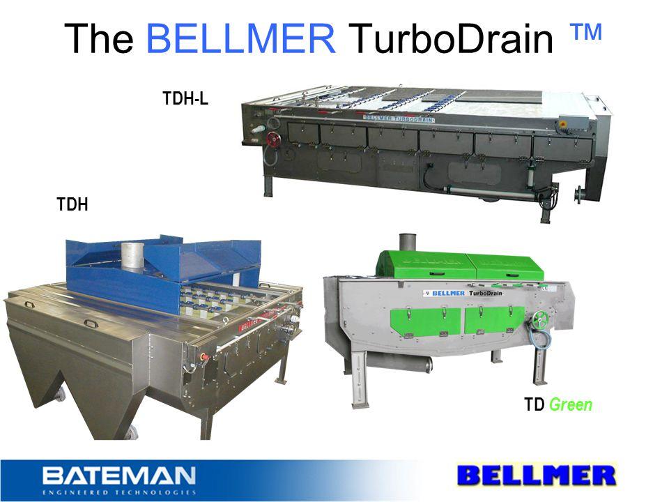 The BELLMER TurboDrain ™ TDH-L TDH TD Green