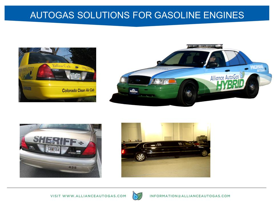 18 AUTOGAS SOLUTIONS FOR GASOLINE ENGINES
