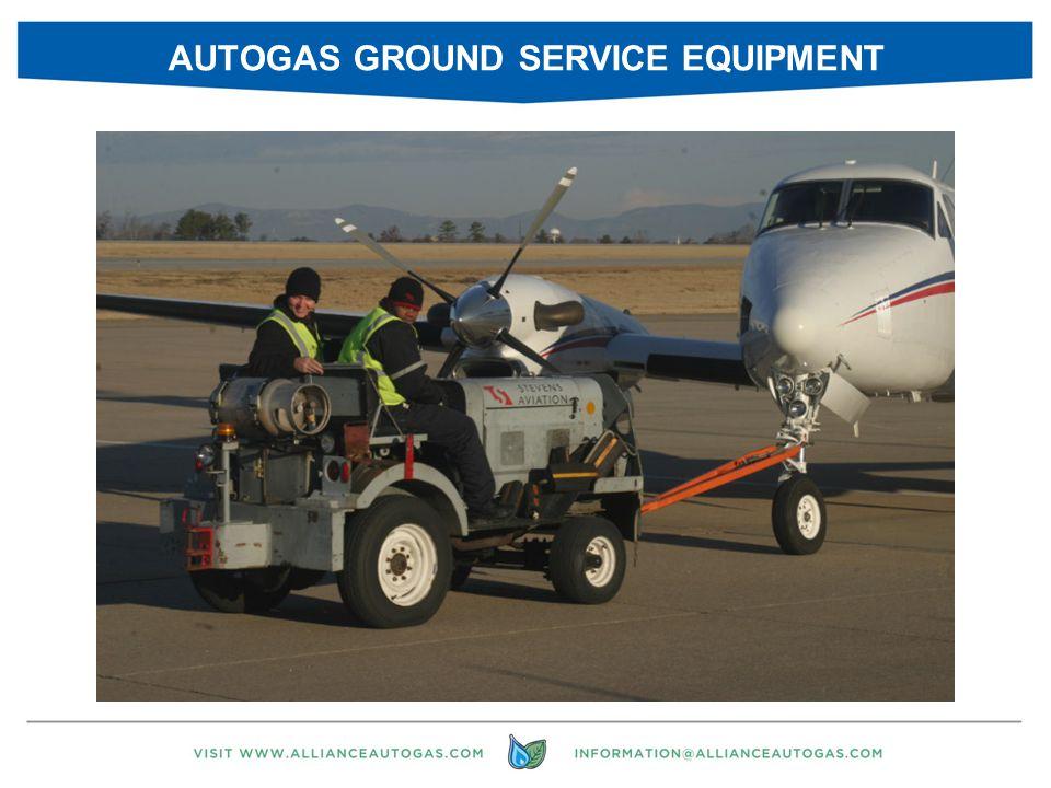 AUTOGAS GROUND SERVICE EQUIPMENT