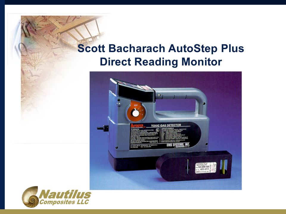 Scott Bacharach AutoStep Plus Direct Reading Monitor
