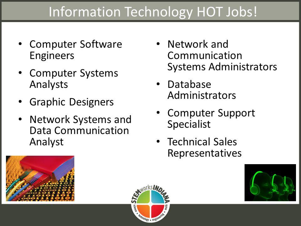 Information Technology HOT Jobs.