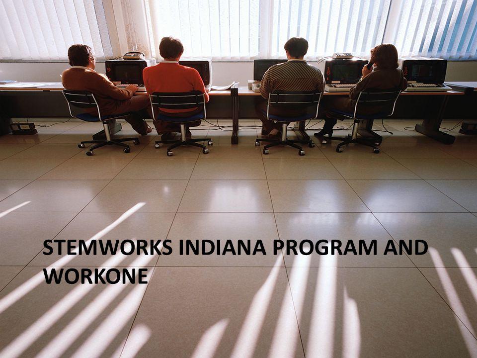 STEMWORKS INDIANA PROGRAM AND WORKONE