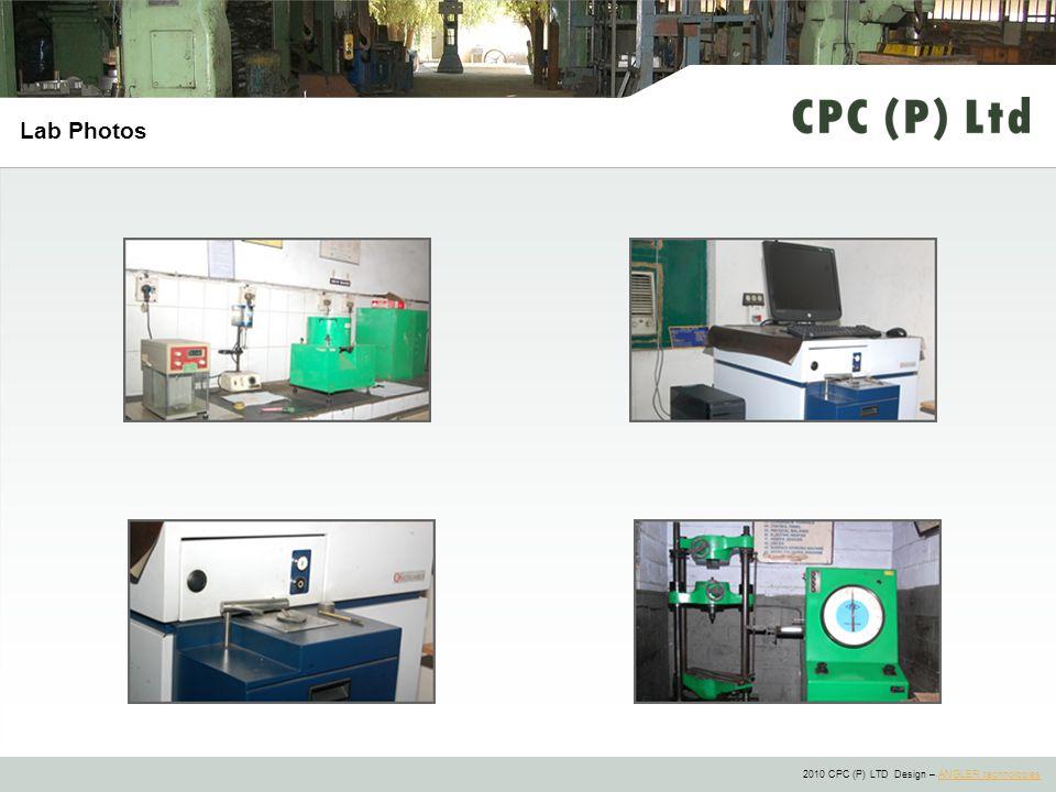 2010 CPC (P) LTD Design – ANGLER technologiesANGLER technologies Lab Photos