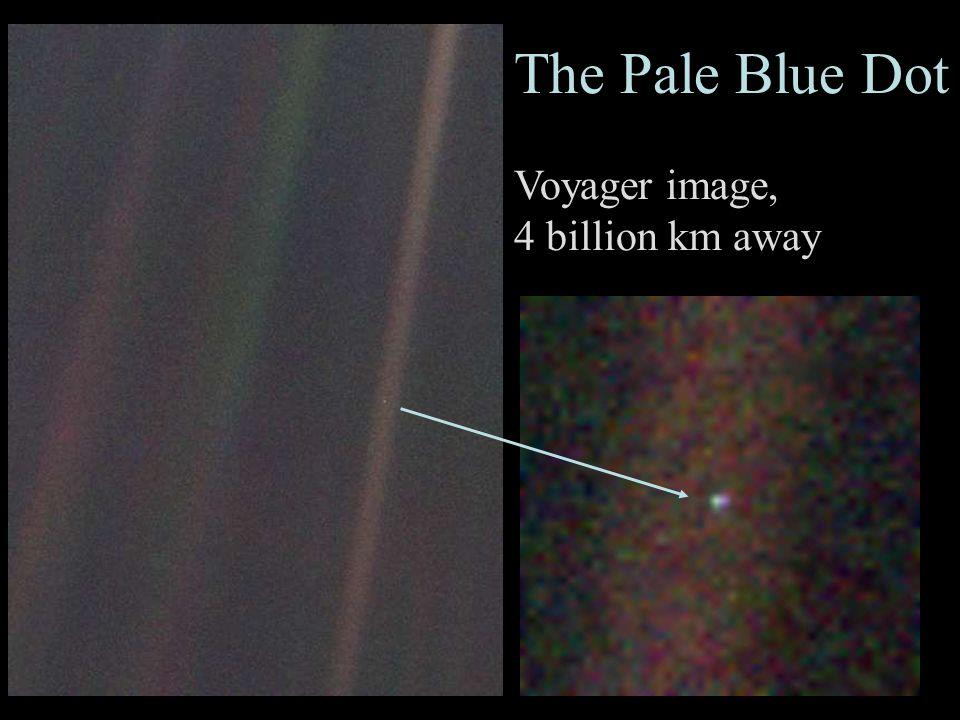 2 The Pale Blue Dot Voyager image, 4 billion km away