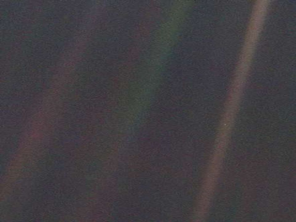 8 Visible spectrum of Earth Observed Earthshine, reflected from dark side of moon.